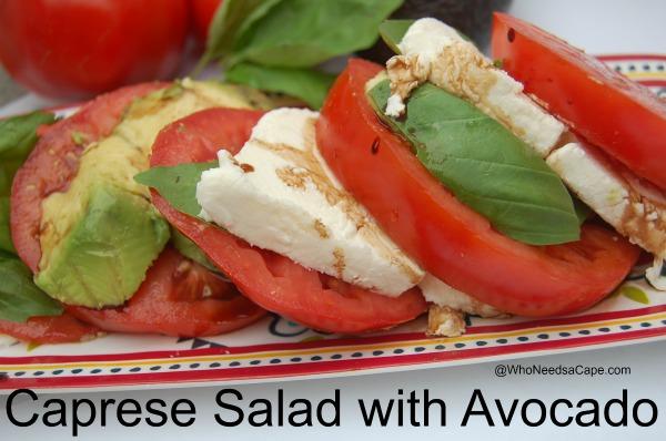 Caprese Salad with Avocado