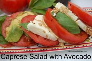 Caprese Salad with Avocado 2