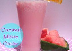 Coconut Melon Cooler