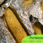 Parmesan Herb Slow Cooker Corn on the Cob