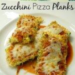 Zucchini Pizza Planks | Who Needs A Cape?