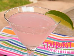 Starburst Martini | Who Needs A Cape?