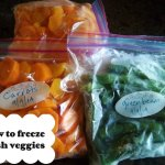 How to Freeze Fresh Veggies