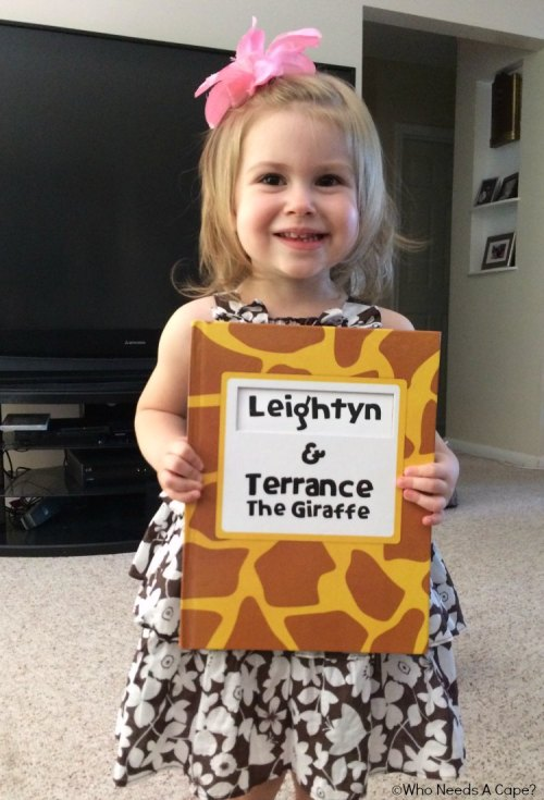 Terrance the Giraffe Book Review and Giveaway | Who Needs A Cape?