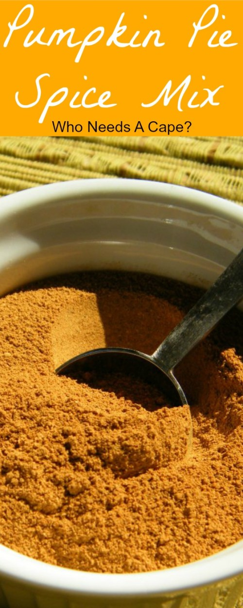 Don't buy Pumpkin Pie Spice Mix and pay a ton of money! Make your own with spices you have in your pantry! Easy and delicious!