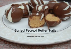 Throw Back Thursday ~ Salted Peanut Butter Balls