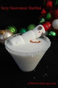 Sexy Snowman Martini 2