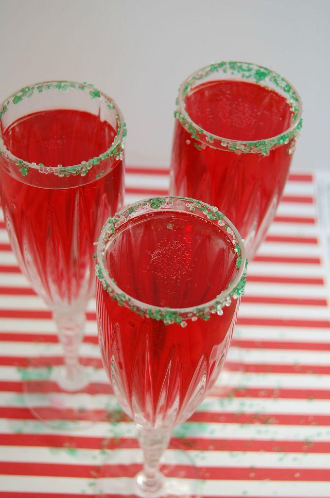 Cranberry Mimosa | Who Needs A Cape?