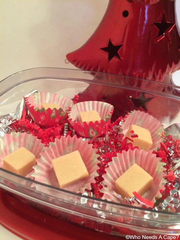Creamy Dreamy Peanut Butter Fudge | Who Needs A Cape?