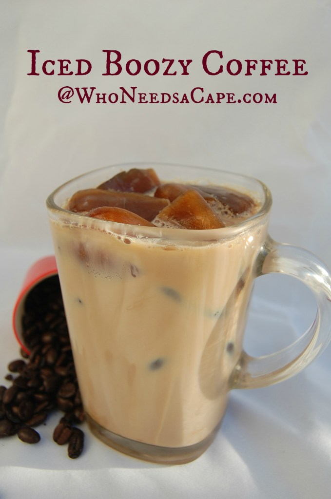 Iced Boozy Coffee