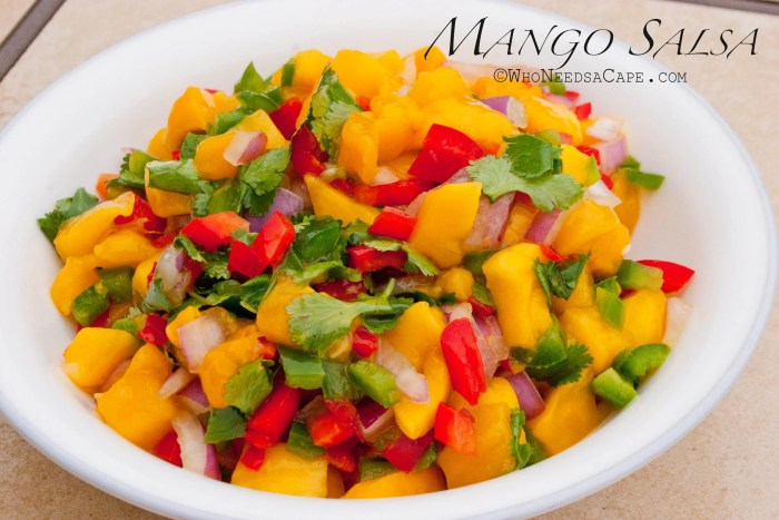 Mango Salsa - Who Needs a Cape?