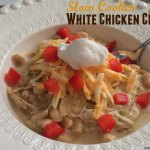 Slow Cooker White Chicken Chili