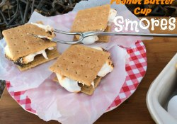 Peanut Butter Cup S'mores