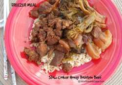 Slow Cooker Honey Bourbon Beef