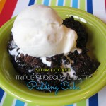 Triple Chocolate Nutty Pudding Cake