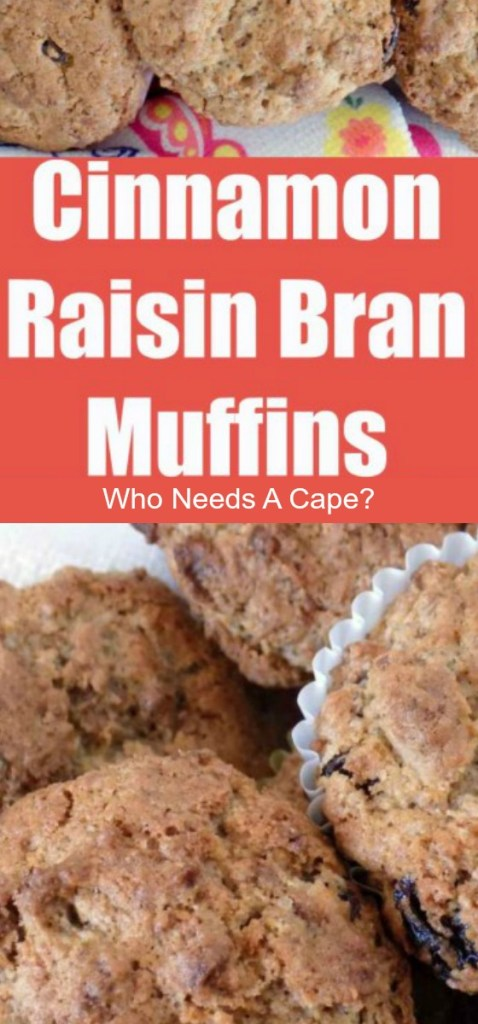 Cinnamon Raisin Bran® Muffins are a delicious way to start your day! Easy to prepare and great for packing into lunches or snacking.