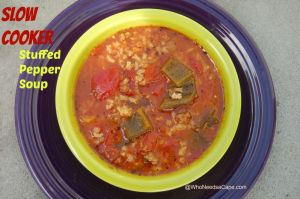 Slow Cooker Stuffed Pepper Soup 2