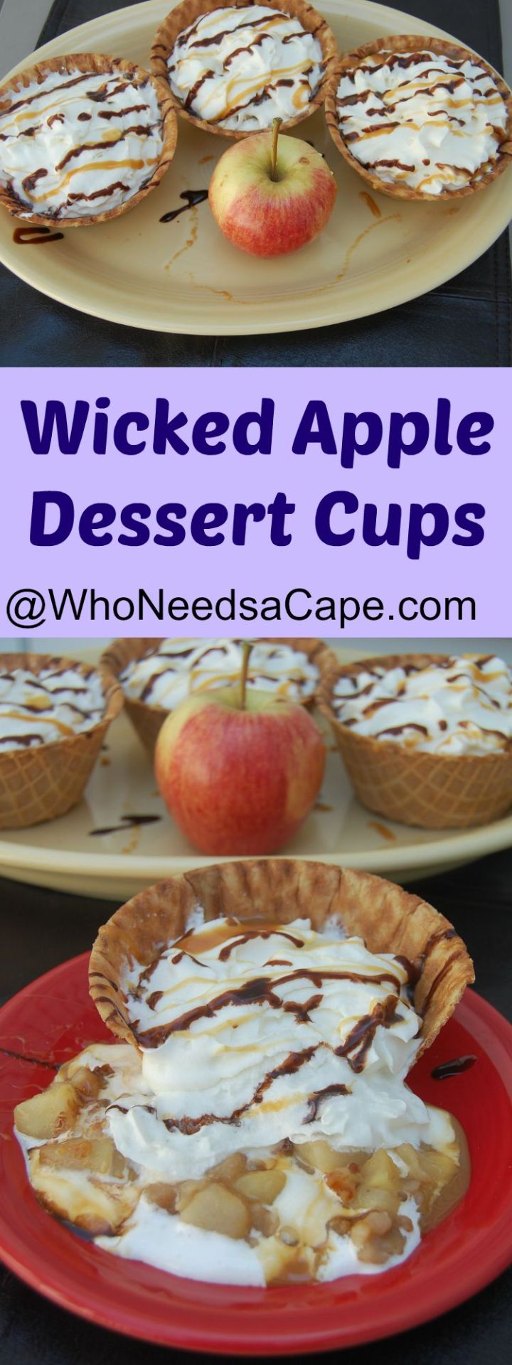 Wicked Apple Dessert Cups