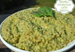 Israeli Couscous with Pesto