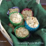 Granola Apple Muffins