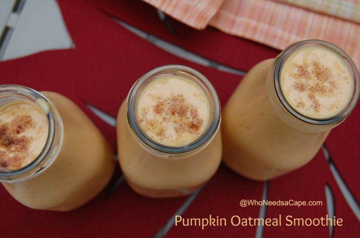 Pumpkin Oatmeal Smoothie 2