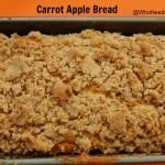 Healthy Eyes & Carrot Apple Bread