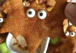 Halloween Sopapilla Crescents® with Creamy Caramel Dip