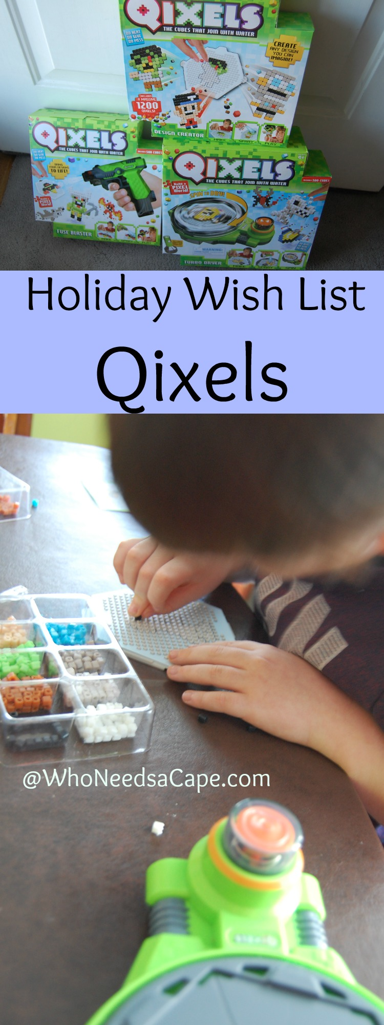 Holiday Wish List with Qixels