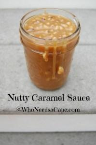 Nutty Caramel Sauce