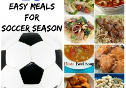 10 Easy Meals for Soccer Season