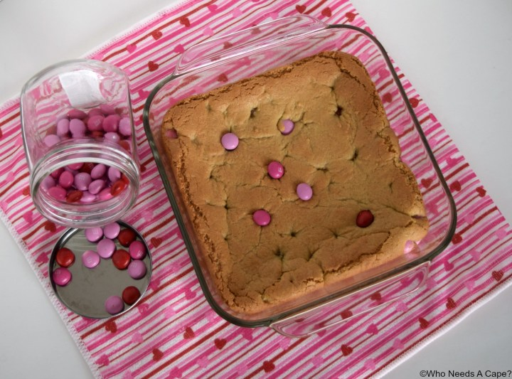 Strawberry Blondies | Who Needs A Cape?