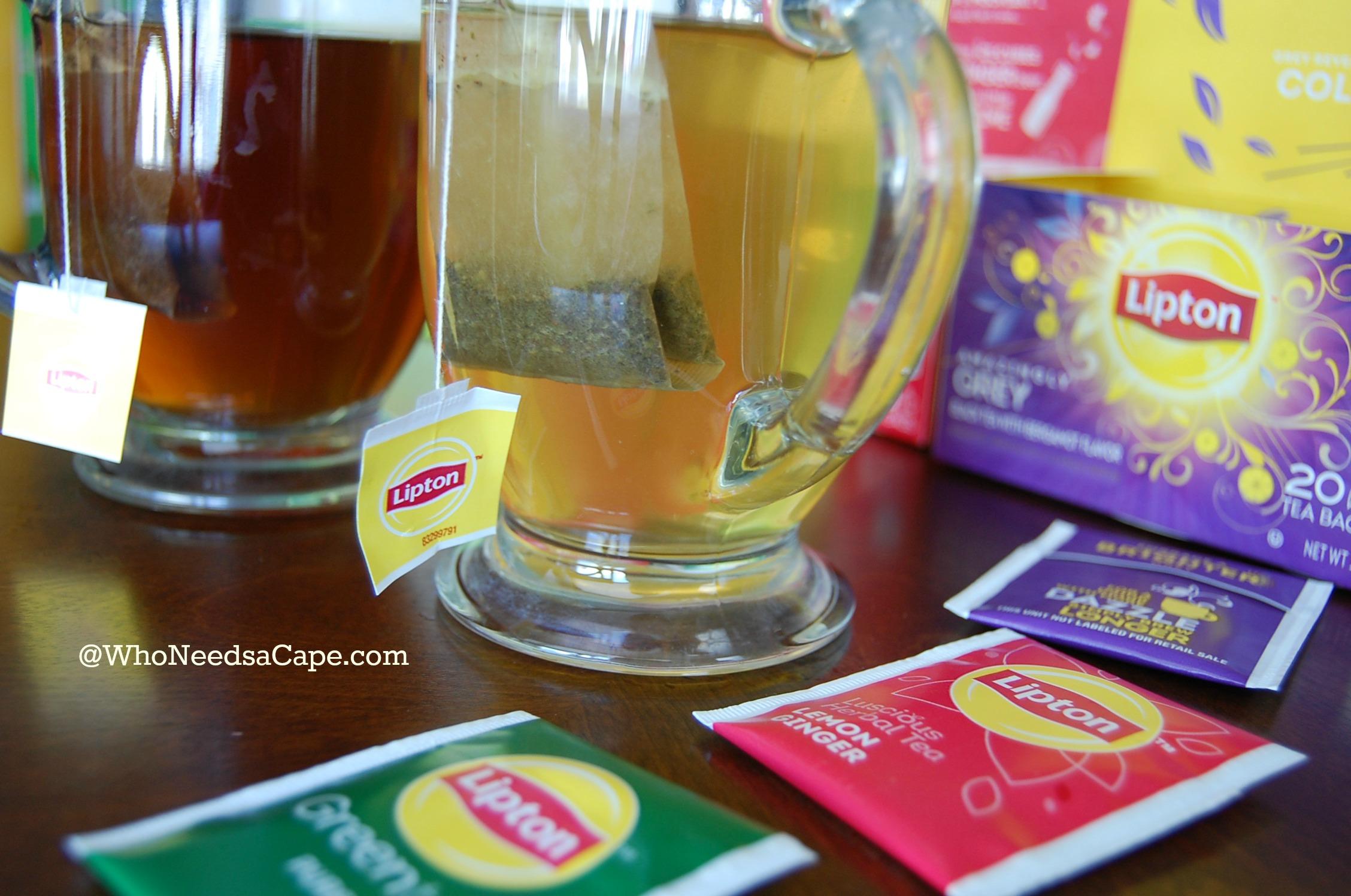 Tea Infused Oatmeal Breakfast 3