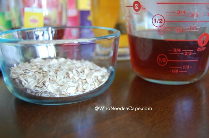 Tea Infused Oatmeal Breakfast 4