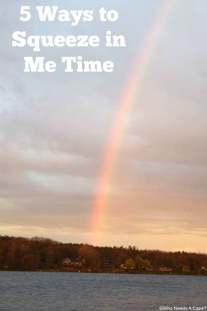 These might not work for everyone, but I'm sharing 5 Ways to Squeeze in Me Time. Times when I can get a break for a few minutes.