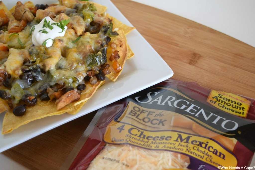 You'll love the flavors that come together in Cheesy Chicken & Poblano Nachos. Layers of deliciousness that you can easily create with simple ingredients.