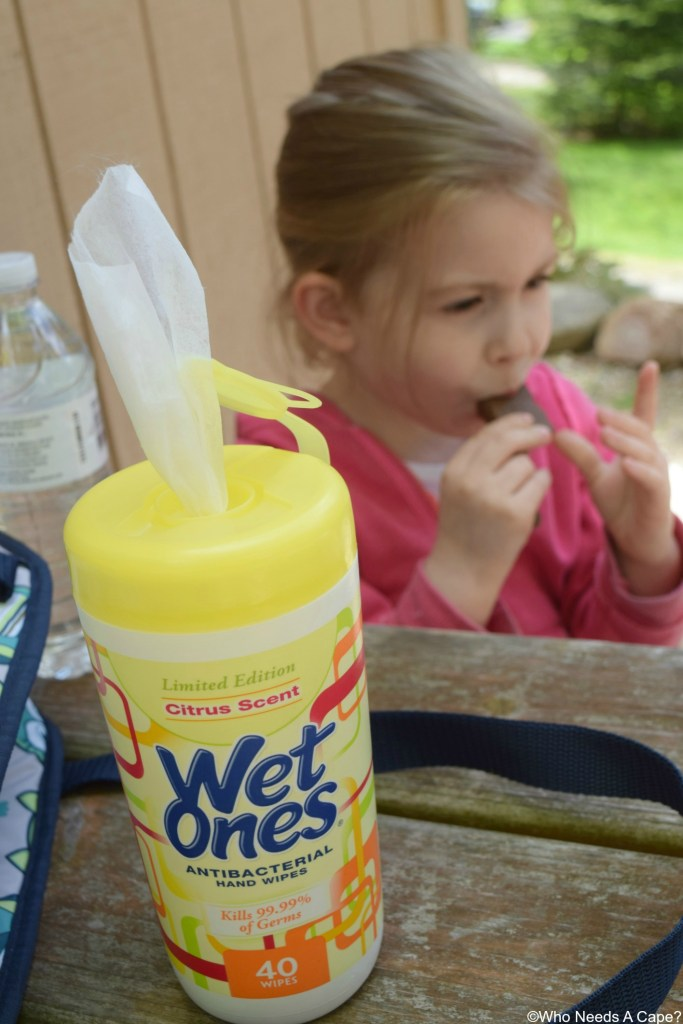 If there's one thing you need to know its that Summer & Wet Ones® Just Go Hand in Hand. Perfect for all the kid messes and fun times all summer long.