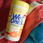 Summer & Wet Ones® Hand Wipes Just Go Hand in Hand