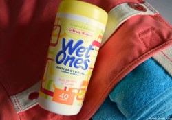 Summer & Wet Ones® Hand Wipes Just Go Hand in Hand