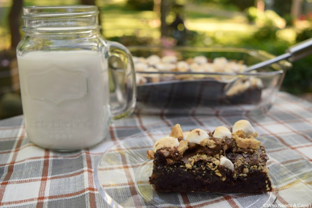 Take your s'mores to the next level! Make Peanut Butter Cup Brownie S'mores and enjoy the same great flavors with a tasty addition.
