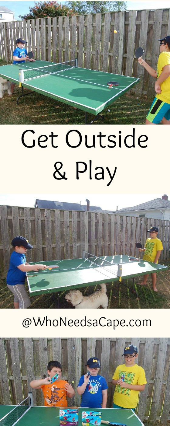 Get Outside and Play has been our theme of the summer. Some great ideastips in here! Who Needs a Cape