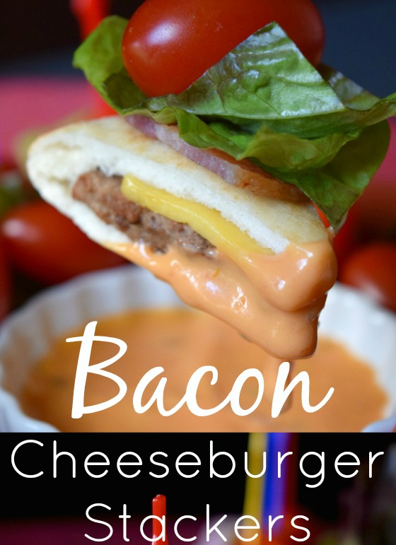 Bacon Cheeseburger Stackers