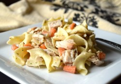 Leftover Turkey Noodle Casserole