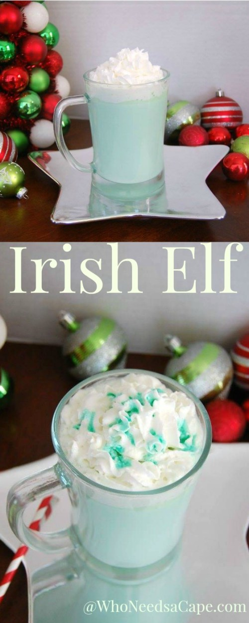 Ready for a fun holiday beverage for the adults. Give our Irish Elf Slow Cooker Cocktail a try! Great for Christmas parties!