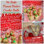No Bake Peanut Butter Cookie Balls