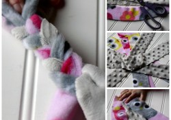 DIY Fleece Dog Toy
