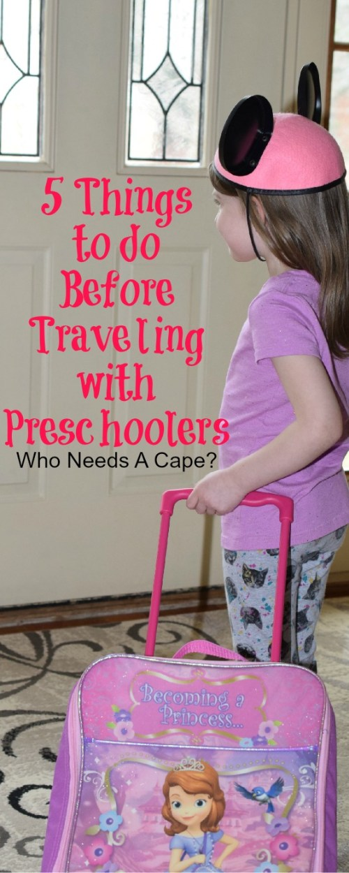 Planning a family trip soon? Here's 5 Things to do Before Traveling with Preschoolers, so you both will be all set for the big trip.