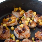 Pork Tenderloin with Michigan Cherries & Apples