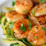 Sesame Cilantro Lime Shrimp