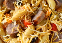 Pasta Salad with Bratwurst