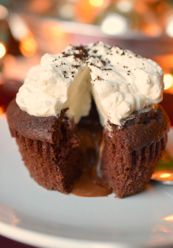 Warm Chocolate Melting Cupcake